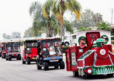 2 Community Christmas Cart Parade