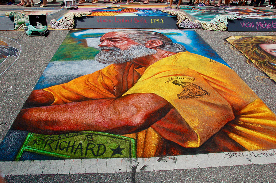 Chalk Festival: Art on the Street, Literally!