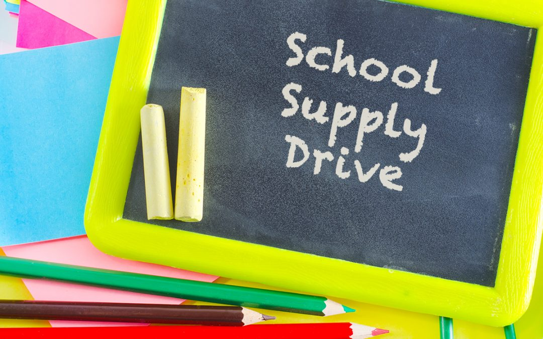 Back 2 School Supply Drive
