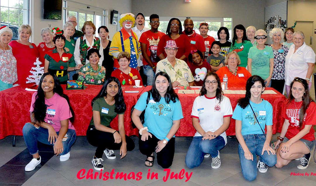 Third Annual Christmas in July a Tremendous Success