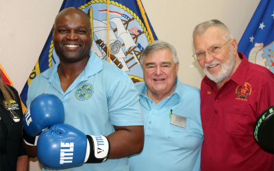 SCC Men's Club Learns About Boxing & Parkinson's Disease