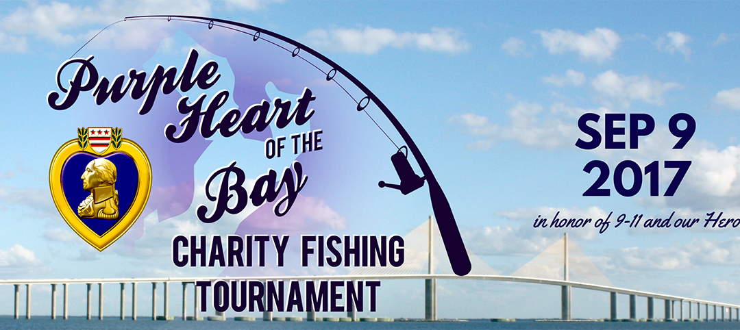Purple Heart of the Bay Charity Fishing Tournament