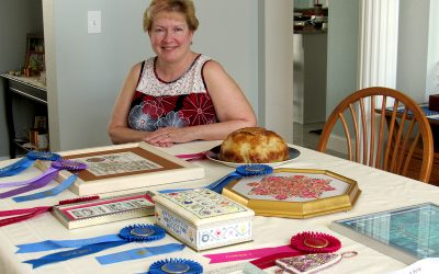 Creative Person: Kelly Freeman Loves Stitching and Needlework