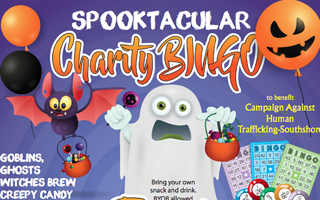 Spooktacular Charity Bingo, Thursday, October 31