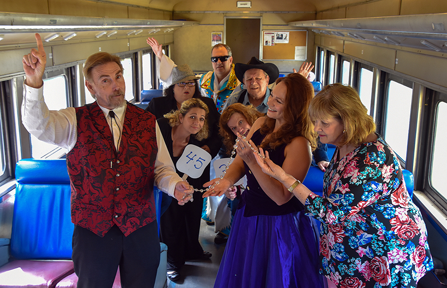Play Detective on the Murder Mystery Train Ride