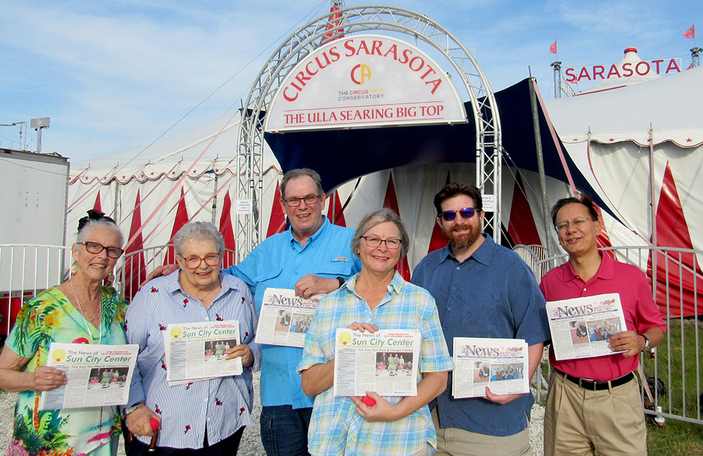 The News Staff Spends a Day at the Circus