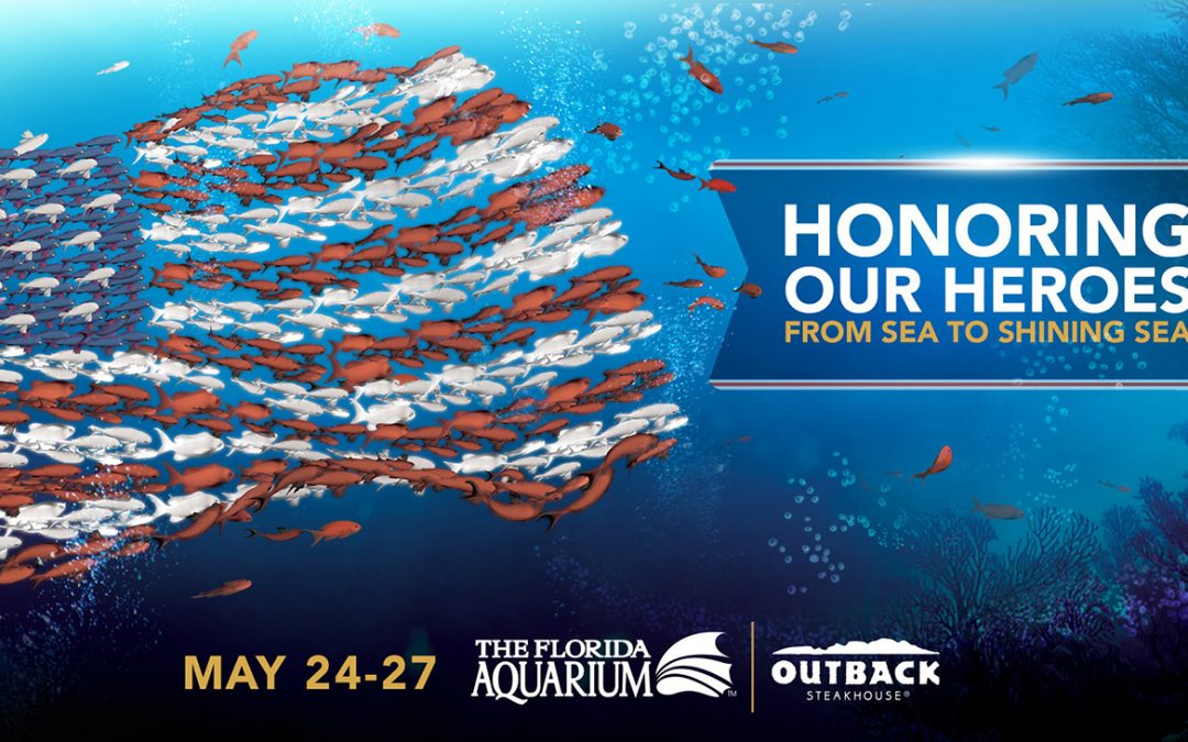 Florida Aquarium Honors Our Military This Memorial Day