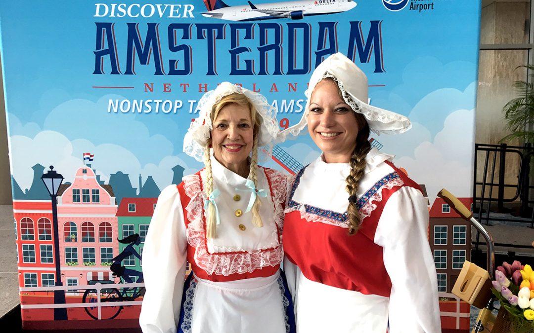 Amsterdam Newest Non-stop Service