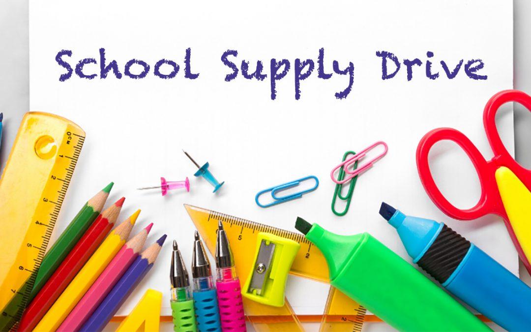 Boys & Girls Club School Supply Drive