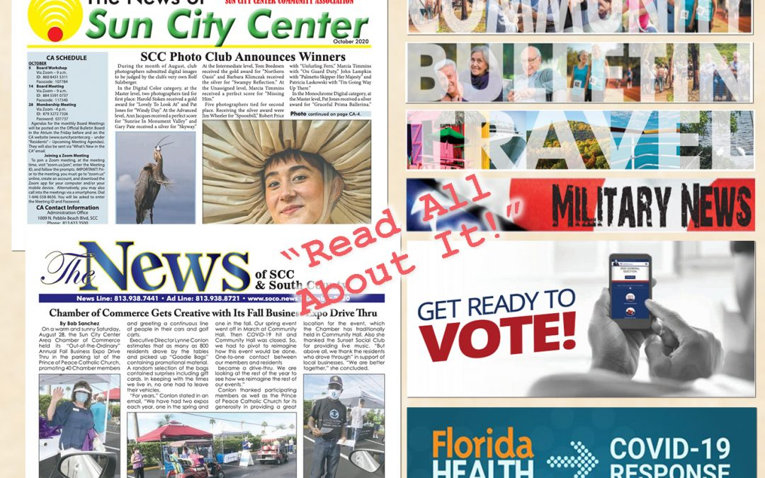 The October 2020 NEWS is HOT off the PRESS!