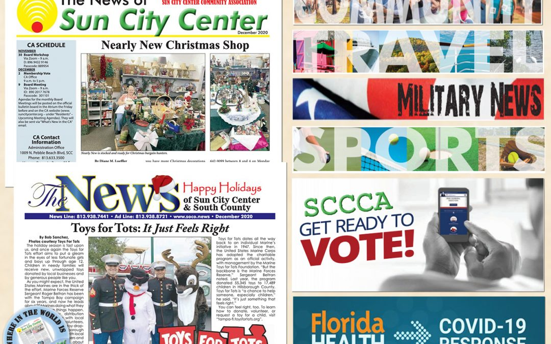 The December 2020 NEWS is HOT off the PRESS!