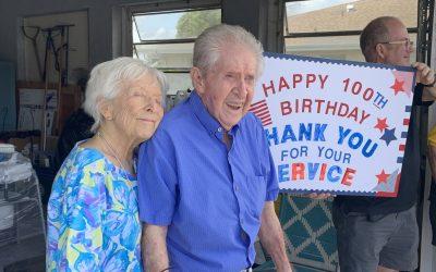 Elmer Mack Celebrates a Century